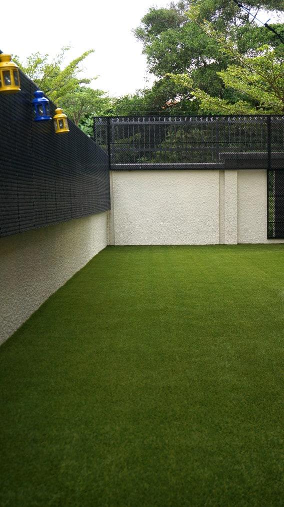 House Eco Fence & Artificial Grass