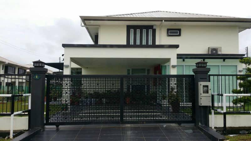 Eco Screen Fence, house gate