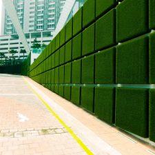 Artificial Grass Wall in Cyberjaya, Kuala Lumpur