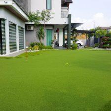 Residential Artificial Grass Golf Putting