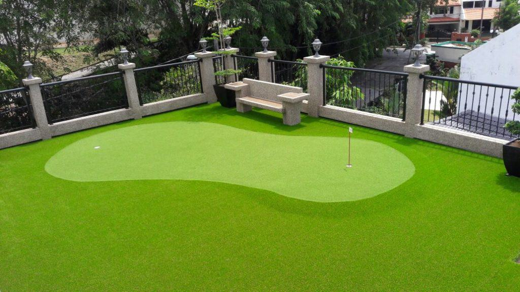 Artificial Grass for Golf | Eco Outdoor Malaysia