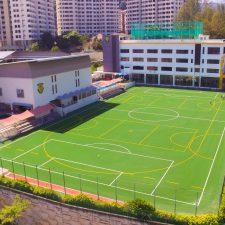 Artificial Grass School Field in Kuala Lumpur