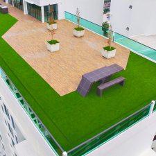 Signature Turf Artificial Grass Rooftop Installation